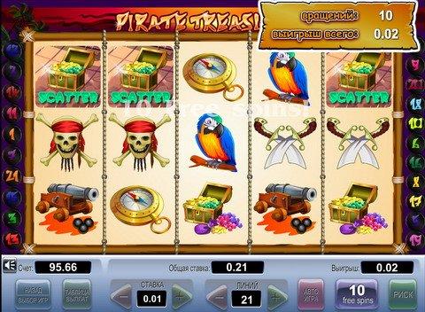 Прогноз pirate treasure пиратские сокровища игровой автомат ставок военнослужащим