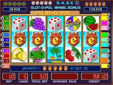 Игровой автомат Slot-o-pol играть онлайн бесплатно